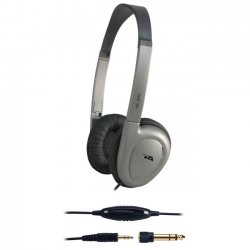 Cyber Acoustics - HE200RB - Cyber Acoustics Cyber HE-200 Stereo Headphone - Wired - 32 Ohm - 20 Hz 20 kHz - Binaural - 8 ft Cable