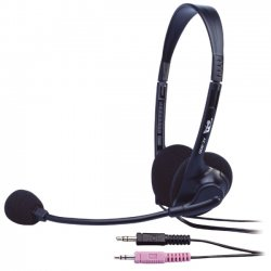 Cyber Acoustics - AC-200B - Cyber Acoustics AC-200b Stereo Headset - Over-the-head