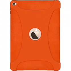 Amzer - AMZ97447 - Amzer Silicone Skin Jelly Case Orange - iPad Air 2 - Orange - Textured - Silicone