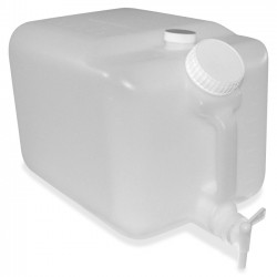 Impact - 7576 - E-Z Fill 5-gallon Container - External Dimensions: 16 Length x 10 Width x 9.5 Height - 5 gal - Plastic - Translucent - For Chemical - 1 / Each