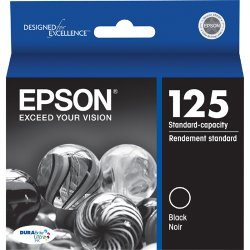 Epson - T125120 - Epson DURABrite Original Ink Cartridge - Inkjet - Black - 1 Each
