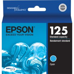 Epson - T125220 - Epson DURABrite Ink Cartridge - Inkjet - 1 Each