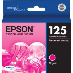 Epson - T125320 - Epson DURABrite Original Ink Cartridge - Inkjet - Magenta - 1 Each