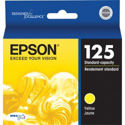 Epson - T125420 - Epson Original Ink Cartridge - Inkjet - Yellow - 1 Each