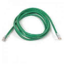 Belkin / Linksys - A3L791-15-GRN - Belkin Cat5e Patch Cable - RJ-45 Male - RJ-45 Male - 15ft - Green