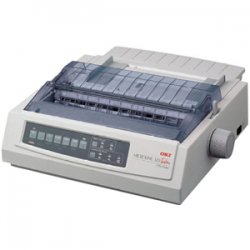 Okidata - 62412901 - OKI Microline 320 Turbo - Printer - monochrome - dot-matrix - 240 x 216 dpi - 9 pin - up to 435 char/sec - parallel