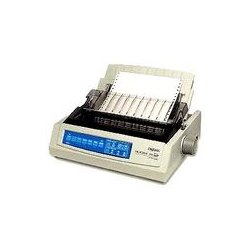 Okidata - 62415901 - OKI Microline 390 Turbo/n - Printer - monochrome - dot-matrix - 360 dpi - 24 pin - up to 390 char/sec - parallel, USB, LAN