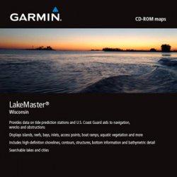 Garmin - 010-10537-02 - Garmin MapSource LakeMaster Wisconsin Digital Map - North America - United States Of America - Lake - Boating, Fishing