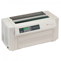 Okidata - 61801001 - OKI Pacemark 4410 - Printer - monochrome - dot-matrix - A2 - 288 x 144 dpi - 18 pin - up to 1066 char/sec - capacity: 10 sheets - parallel, serial