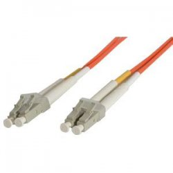 StarTech - FIBLCLC5 - StarTech.com 5m Fiber Optic Cable - Multimode Duplex 62.5/125 - LSZH - LC/LC - OM1 - LC to LC Fiber Patch Cable - LC Male Network - LC Male Network - 5m - Orange