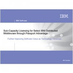 IBM - D5586LL-BL - IBM TotalStorage SAN Volume Controller Metro Mirror - License - 1 TB Capacity - Passport Advantage - Price Level BL - 13.3 Point(s) - PC