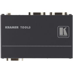 Kramer Electronics - VP-200K - Kramer VP-200K 1:2 Computer Graphics Video Distribution Amplifier - 400 MHz to 400 MHz - VGA In - VGA Out