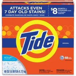 Procter & Gamble - 84997 - Tide Powder Laundry Detergent - Concentrate Powder - 94.88 oz (5.93 lb) - Original Scent - 1 / Box - Orange