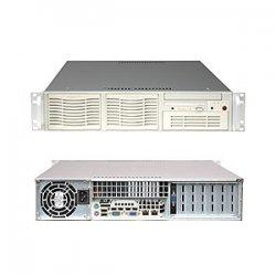 Supermicro - SYS-5025M-I+B - Black, 2u, 8g Ddr2, 2x Ide, 550w
