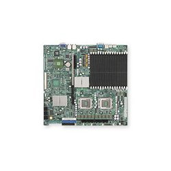Supermicro - MBD-X7DBR-I+-B - Supermicro X7DBR-i+ Server Motherboard - Intel Chipset - Socket J LGA-771 - 1 x Bulk Pack - 2 x Processor Support - 64 GB DDR2 SDRAM Maximum RAM - 667 MHz Memory Speed Supported - 16 x Memory Slots - Floppy Controller, Serial