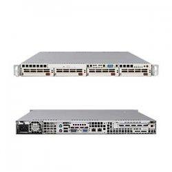 Supermicro - SYS-6015V-M3B - Supermicro SuperServer 6015V-M3B Barebone System - Intel 5000V - LGA771 Socket - Xeon (Dual-core) - 1333MHz, 1066MHz, 667MHz Bus Speed - 16GB Memory Support - DVD-Reader (DVD-ROM) - Gigabit Ethernet - 1U Rack