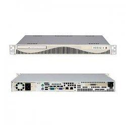 Supermicro - SYS-6015V-MRLPB - Supermicro SuperServer 6015V-MRLPB Barebone System - Intel 5000V - LGA771 Socket - Xeon (Dual-core) - 1333MHz, 1066MHz, 800MHz Bus Speed - 16GB Memory Support - DVD-Reader (DVD-ROM) - Gigabit Ethernet - 1U Rack