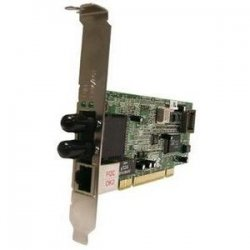 Transition Networks - NDM-FTX-SC-01L - Transition Networks Fast Ethernet Dual Media Network Interface Card - PCI - 1 x SC , 1 x RJ-45 - 100Base-FX, 10/100Base-TX