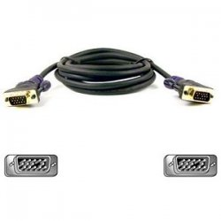 Belkin / Linksys - F2N028-06-GLD - Belkin Gold Series Monitor Replacement Cable - HD-15 Male - HD-15 Male Monitor - 6ft