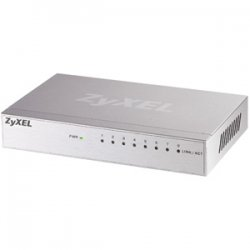 ZyXel - GS108B - Zyxel GS-108B Desktop Gigabit Switch - 8 x 10/100/1000Base-T