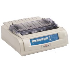 Okidata - 62418903 - OKI Microline 490n - Printer - monochrome - dot-matrix - 10 in (width) - 360 dpi - 24 pin - up to 475 char/sec - parallel, USB, LAN