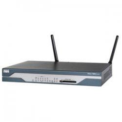Cisco - CISCO1811WAGCK9-RF - Cisco - 1811 Fixed Configuration Integrated Services Wireless Router - 8 x 10/100Base-TX LAN, 2 x 10/100Base-TX WAN