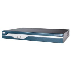 Cisco - CISCO1841HSECK9-RF - Cisco 1841 Integrated Services Router - 2 x HWIC, 1 x AIM, 1 x CompactFlash (CF) Card - 2 x 10/100Base-TX LAN, 1 x USB