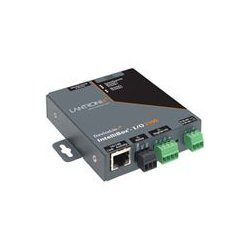Lantronix - IBIO21002-01 - Lantronix IntelliBox-I/O 2100 Industrial Device Server - 2 x , 1 x RJ-45