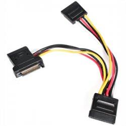 StarTech - PYO3SATA - StarTech.com 4in SATA Power Y Splitter Adapter Cable - 4.72