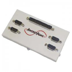 Comtrol - 30050-2 - Comtrol RocketPort 4-Port DB9M Interface Hub - 4 x 9-pin DB-9 Male RS-232/422/485