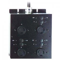 Eaton Electrical - LPC208-1P - Eaton Powerware ePDU 4-Outlets 5.76kVA PDU - 4 x NEMA L6-30R - 5.76kVA - Zero U Rack-mountable