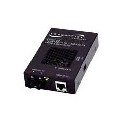 Transition Networks - E-100BTX-FX-05-EU - Transition Networks Fast Ethernet Stand-Alone Media Converter - 1 x RJ-45 , 1 x ST Duplex - 100Base-TX, 100Base-FX