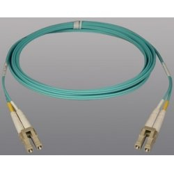Tripp Lite - N820-10M - Tripp Lite 10Gb Duplex Multimode 50/125 OM3 - LSZH Fiber Patch Cable, (LC/LC) - Aqua, 10M (33-ft.)