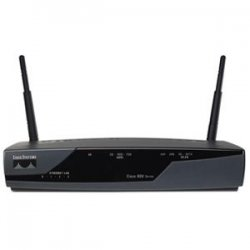 Cisco - CISCO877W-G-AK9-RF - Cisco - 877 Integrated Services Router - 4 x 10/100Base-TX LAN, 1 x Console Management