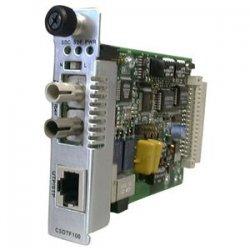 Transition Networks - CSDTF1029-121 - Transition Networks Point System CSDTF1029-121 T1/E1 Media Converter - 1 x SC Ports - T1/E1 - Internal