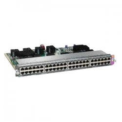Cisco - WS-X4648-RJ45-E - Cisco 48-Port Switching Module - 48 x 10/100/1000Base-T LAN100 Mbit/s