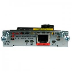 Cisco - HWIC-1B-U - Cisco 1-Port ISDN BRI U interface High-Speed WAN Interface Card - 1 x ISDN BRI (U)