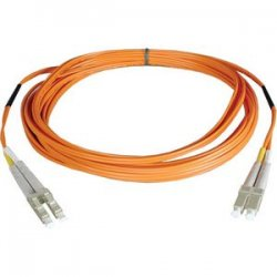 Tripp Lite - N320-02M - Tripp Lite 2M Duplex Multimode 62.5/125 Fiber Optic Patch Cable LC/LC 6' 6ft 2 Meter - LC - LC - 6.56ft - Orange