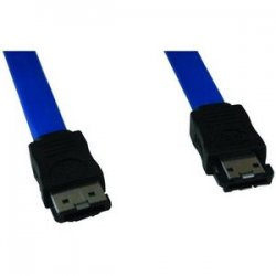 Tripp Lite - P950-18I - Tripp Lite 18in External Signal Shielded Cable eSATA SATA-II 7Pin / 7Pin - (7Pin/7Pin) 18-in.h