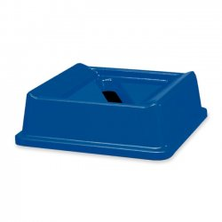 Rubbermaid - 2794-DB - Rubbermaid Untouchable Recycling Container Top for Paper - 1 Each