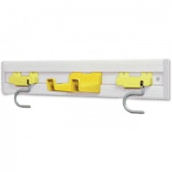 Rubbermaid - 199400YEL - Rubbermaid Commercial Closet Organizer S-hook Value Kit - for Notes - Yellow - 1 Each