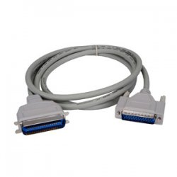 Lexmark - 1021231 - Lexmark Parallel Cable - DB-25 Male Parallel - Centronics Male Parallel - 10ft