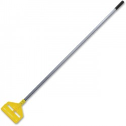 "Rubbermaid - H14600GY - Rubbermaid Invader Wet Mop Fiberglass Handle - 60"" Length - Gray, Yellow - Fiberglass, Plastic"