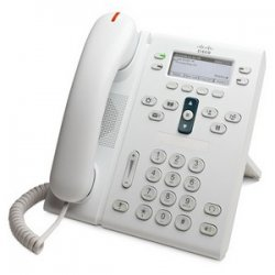 Cisco - CP-6941-WL-K9= - Cisco 6941 Unified IP Phone - 1 x RJ-9 Headset, 2 x RJ-45 10/100Base-TX PoE - 4Phoneline(s) - Desktop