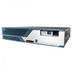 Cisco - CISCO3825HSECK9-RF - Cisco 3825 Integrated Service Router - 2 x Network Module, 4 x HWIC, 1 x SFP, 1 x CompactFlash (CF) Card, 4 x PVDM, 2 x AIM - 2 x 10/100/1000Base-T LAN, 2 x USB