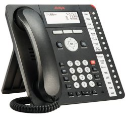 Avaya / Nortel - 700469869 - Avaya 1416 Standard Phone - Black - Corded - 1 x Phone Line - Speakerphone - Backlight