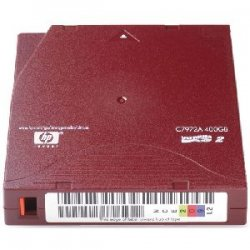 Hewlett Packard (HP) - C7972AN - HP C7972AN LTO Ultrium 2 Non-Custom Labeled Tape Cartridge - LTO Ultrium LTO-2 - 200GB (Native) / 400GB (Compressed)