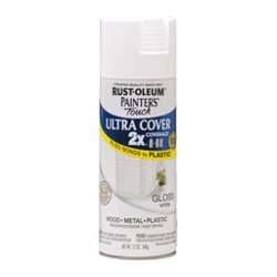 Rust-Oleum - 249090 - Rust-Oleum Painter's Touch Ultra Cover 2X Enamel Spray - 12 oz - White