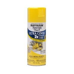 Rust-Oleum - 249092 - Rust-Oleum Painter's Touch Ultra Cover 2X Enamel Spray - 12 oz - Sun Yellow