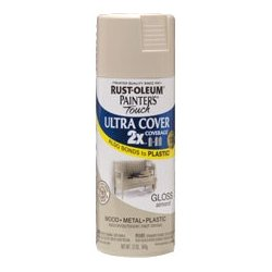 Rust-Oleum - 249125 - Rust-Oleum Painter's Touch Ultra Cover 2X Enamel Spray - 12 oz - Almond